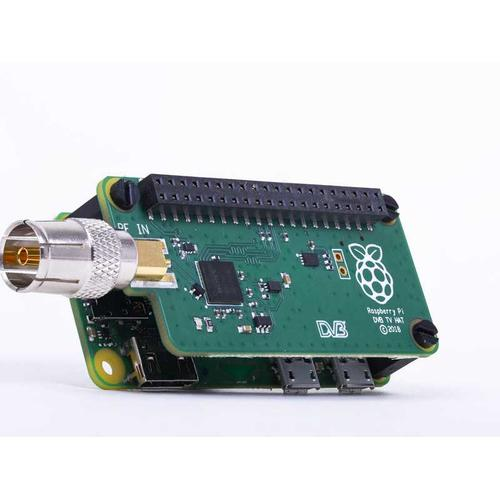 Raspberry Pi TV HAT Intern DVB-T,DVB-T2 productfoto