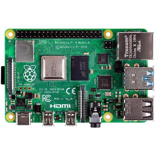 Raspberry Pi 4 Model B development board 1,5 MHz BCM2711 productfoto