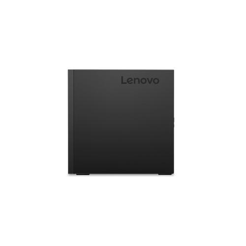 Lenovo ThinkCentre M720q Intel® 9de generatie Core™ i5 i5-9400T 8 GB DDR4-SDRAM 256 GB SSD Mini PC Zwart Windows 10 Pro productfoto  L