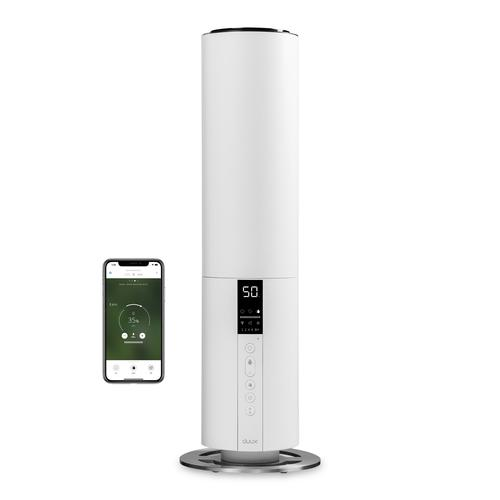 Duux Beam luchtbevochtiger Ultrasonic 5 l 27 W Roestvrijstaal, Wit productfoto