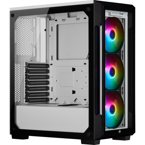 Corsair iCUE 220T RGB Midi Tower Wit productfoto