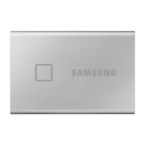 Samsung T7 Touch 500 GB Zilver productfoto