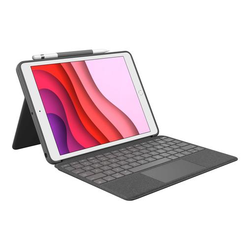 Logitech Combo Touch Grafiet Smart Connector QWERTY Brits Engels productfoto