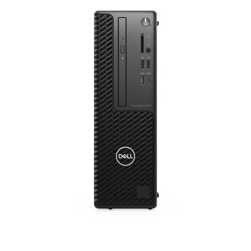 DELL Precision 3440 Intel® 10de generatie Core™ i7 i7-10700 16 GB DDR4-SDRAM 512 GB SSD SFF Zwart Workstation Windows 10 Pro productfoto