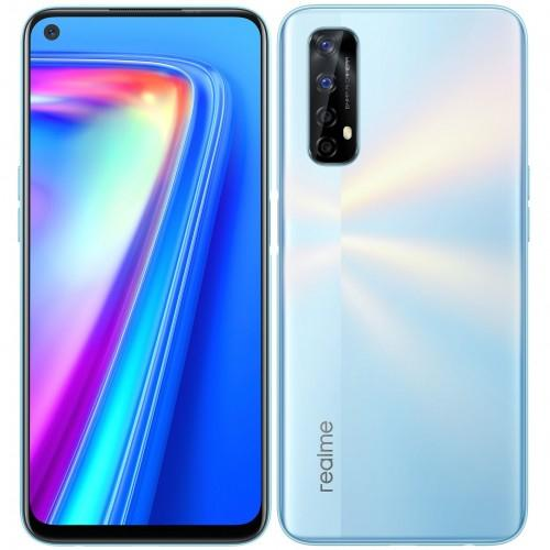 "realme 7 16,5 cm (6.5"") Dual SIM Android 10.0 4G USB Type-C 6 GB 64 GB 5000 mAh Zilver productfoto"