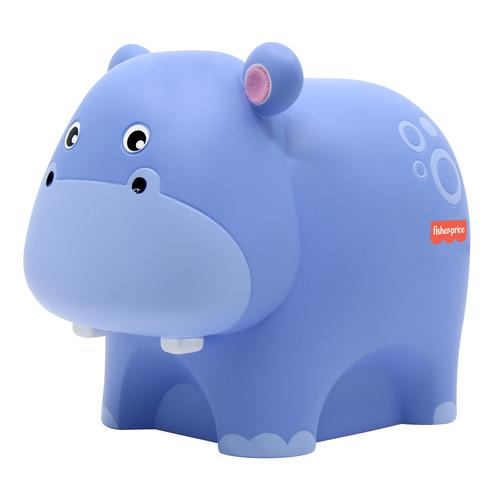 Fisher-Price Hippo babynachtlamp Vrijstaand Paars LED productfoto