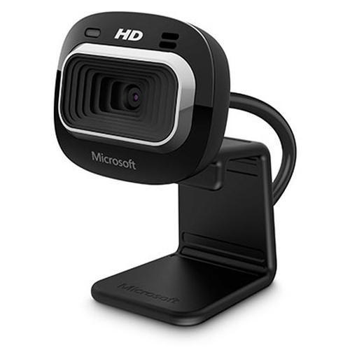 Microsoft LifeCam HD-3000 for Business webcam 1 MP 1280 x 720 Pixels USB 2.0 Zwart productfoto