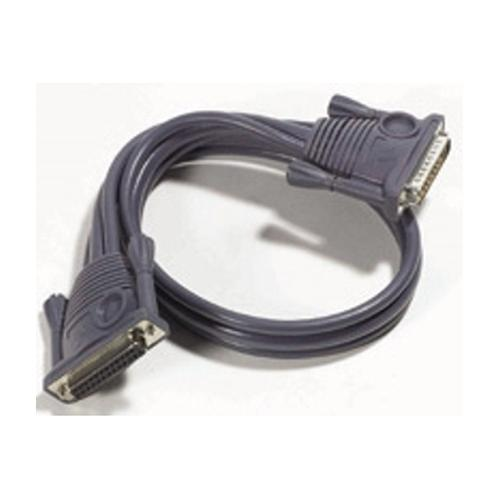 Aten Daisy Chain Cable, 3m toetsenbord-video-muis (kvm) kabel Zwart productfoto