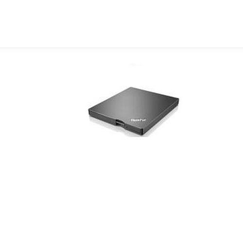 Lenovo ThinkPad UltraSlim USB DVD Burner optisch schijfstation Zwart DVD±RW productfoto