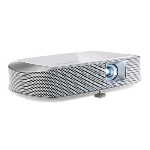 Acer K137i beamer/projector 700 ANSI lumens DLP WXGA (1280x800) Draagbare projector Zilver productfoto  L