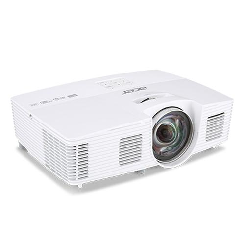 Acer Professional and Education H6517ST beamer/projector 3000 ANSI lumens DLP 1080p (1920x1080) 3D Desktopprojector Wit productfoto