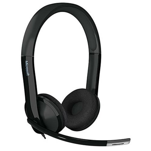 Microsoft LifeChat LX-6000 for Business Headset Hoofdband Zwart productfoto