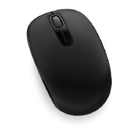 Microsoft Wireless Mobile Mouse 1850 muis Ambidextrous RF Draadloos productfoto