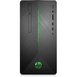 HP Pavilion 690-0000nb Intel® 8ste generatie Core™ i5 i5-8400 8 GB DDR4-SDRAM 1128 GB HDD+SSD Zwart Mini Toren PC productfoto