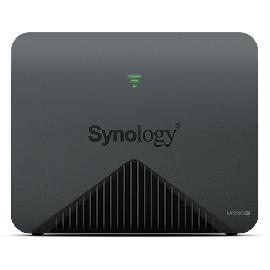 Synology MR2200AC draadloze router Gigabit Ethernet Dual-band (2.4 GHz / 5 GHz) 3G 4G Zwart productfoto