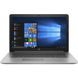 "HP 470 G7 Notebook Zilver 43,9 cm (17.3"") 1920 x 1080 Pixels Intel® 10de generatie Core™ i5 8 GB DDR4-SDRAM 256 GB SSD AMD Radeon 530 Wi-Fi 6 (802.11ax) Windows 10 Pro productfoto"