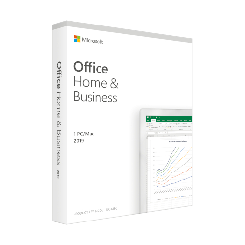 Microsoft Office 2019 Home and Business Engels productfoto