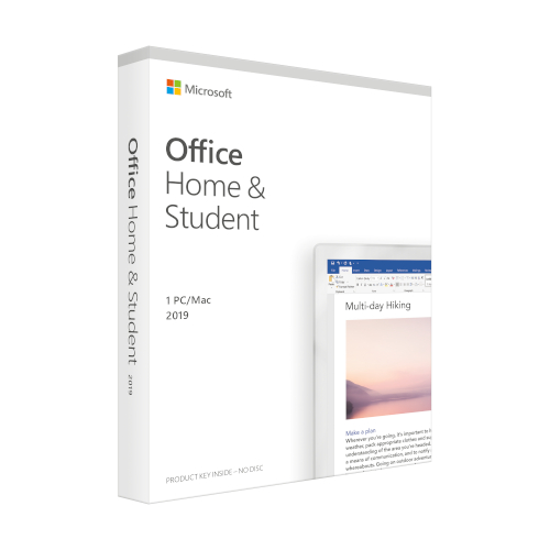 Microsoft Office 2019 Home and Student Engels productfoto