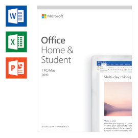 Microsoft Office 2019 Home and Student Nederlands productfoto