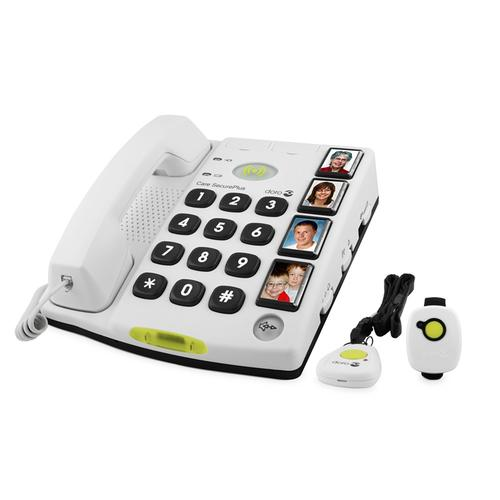 Doro Secure 347 Analog telephone White product photo