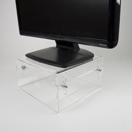 Newstar LCD/CRT monitor riser [acrylic] product photo