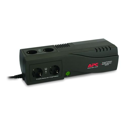 APC Back-UPS uninterruptible power supply (UPS) Standby (Offline) 325 VA 185 W product photo  L