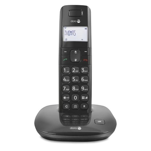 Doro Comfort 1010 DECT telephone Black Caller ID product photo