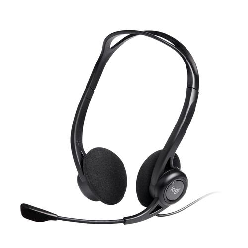 Logitech 960 USB Headset Head-band Black product photo