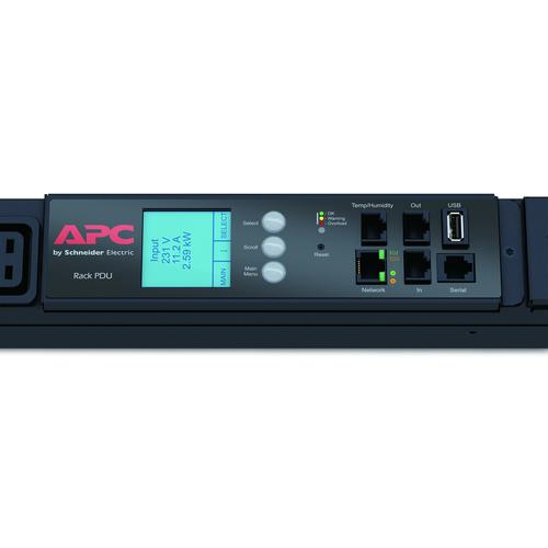 APC AP8886 power distribution unit (PDU) 0U Black 42 AC outlet(s) product photo  L