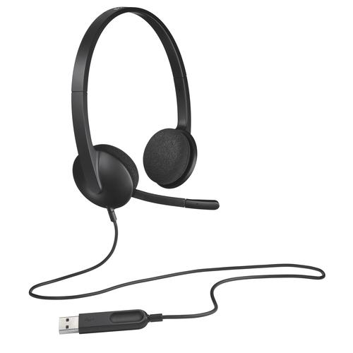 Logitech H340 Headset Head-band Black product photo