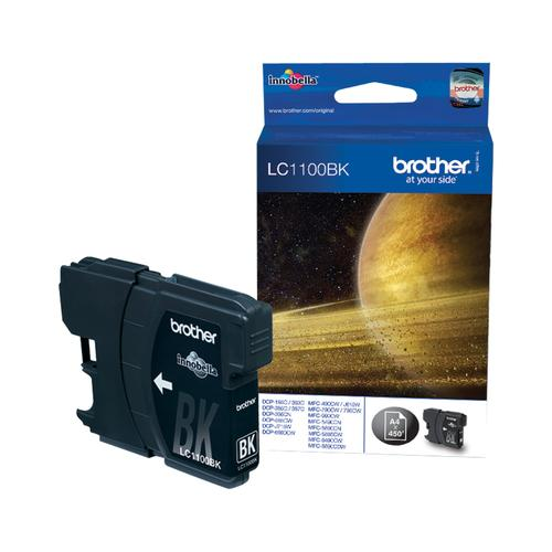 Brother LC-1100BK Black Ink Cartridge Original 1 pc(s) product photo