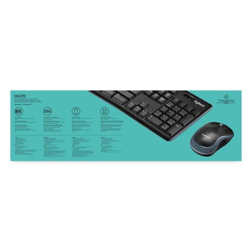 8d7d47328f4 Logitech MK270 Qwerty US - Keyboard and mouse bundle