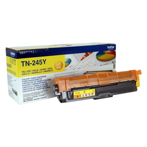 Brother TN-245Y toner cartridge Original Yellow 1 pc(s) product photo