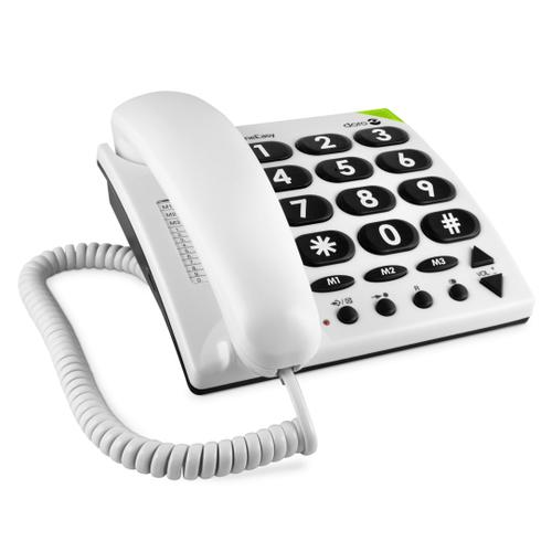 Doro PhoneEasy 311c Analog telephone White product photo