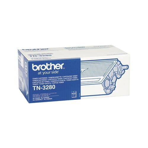 Brother TN-3280 toner cartridge Original Black 1 pc(s) product photo  L