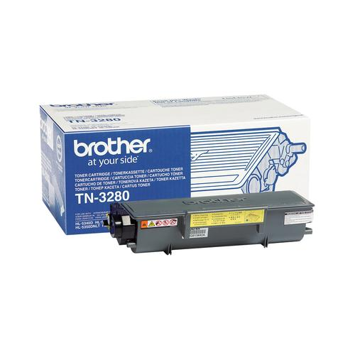 Brother TN-3280 toner cartridge Original Black 1 pc(s) product photo