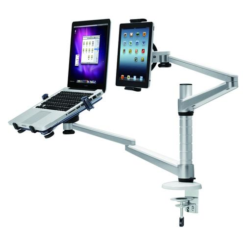 Newstar flat screen, tablet and notebook desk mount product photo