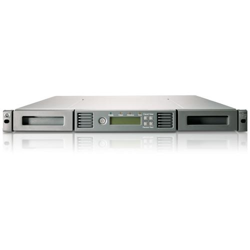 Hewlett Packard Enterprise StoreEver 1/8 G2 LTO-6 Ultrium 6250 SAS Autoloader w/8 LTO-6 Media/TVlite tape auto loader/library 15000 GB 1U product photo