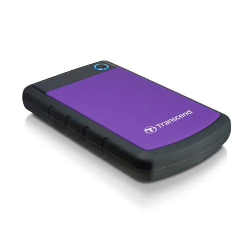 Transcend StoreJet 25H3P (USB 3.0), 2TB external hard drive 2000 GB Black,Violet product photo