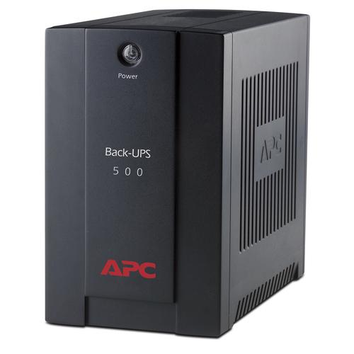 APC Back-UPS Line-Interactive 500 VA 300 W 3 AC outlet(s) product photo