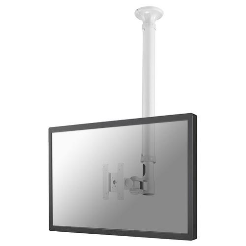 "Newstar TV/Monitor Ceiling Mount for 10""-30"" Screen, Height Adjustable - White product photo"