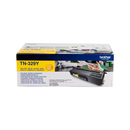Brother TN-329Y toner cartridge Original Yellow 1 pc(s) product photo  L