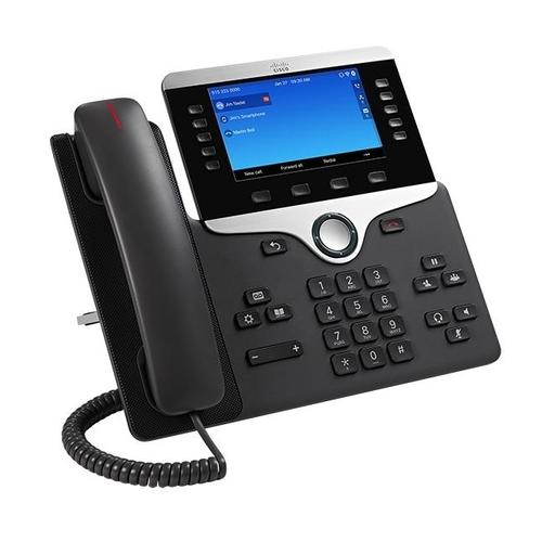 Cisco 8841 IP phone Black,Silver Wired handset product photo