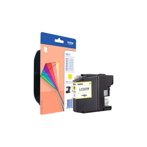 Brother LC-223Y ink cartridge 1 pc(s) Original Yellow product photo