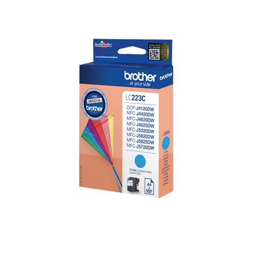 Brother LC-223C ink cartridge Original Cyan 1 pc(s) product photo