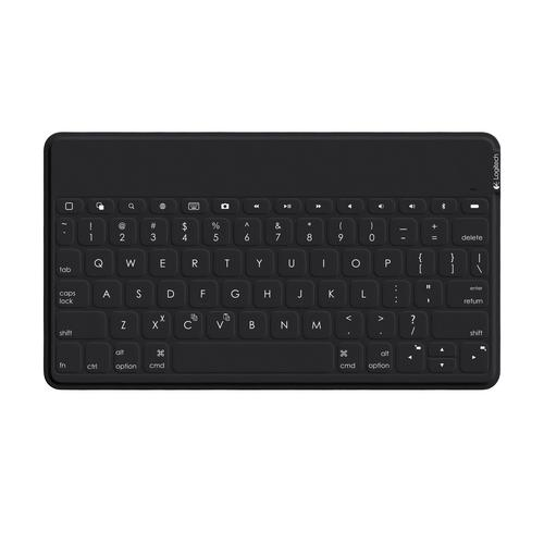 Logitech Keys-To-Go mobile device keyboard QWERTY Dutch,UK English Black Bluetooth product photo