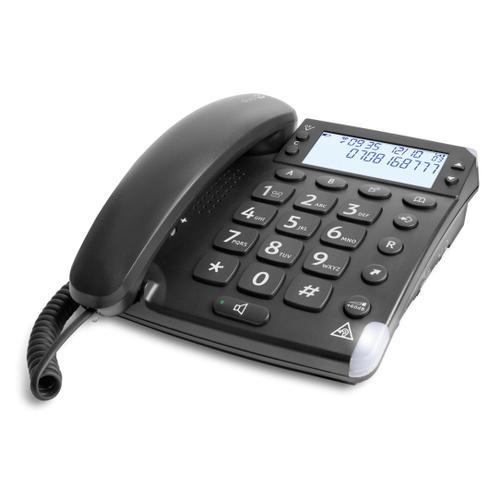 Doro Magna 4000 Analog telephone Black Caller ID product photo