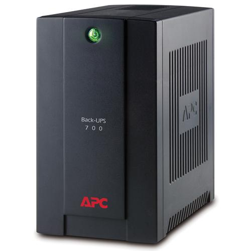 APC Back-UPS Line-Interactive 700 VA 390 W 4 AC outlet(s) product photo