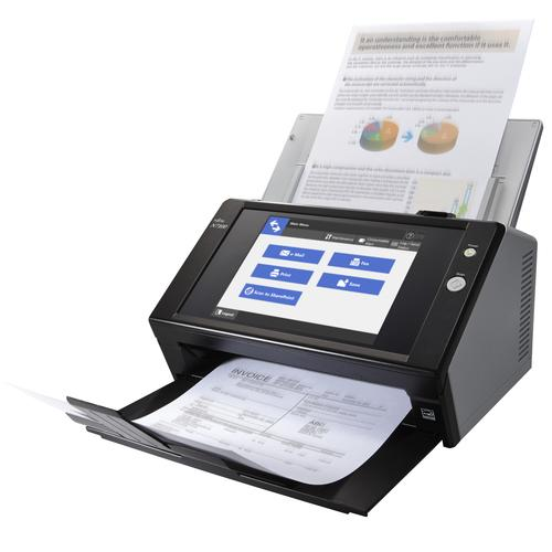 Fujitsu N7100 600 x 600 DPI ADF scanner Black A4 product photo
