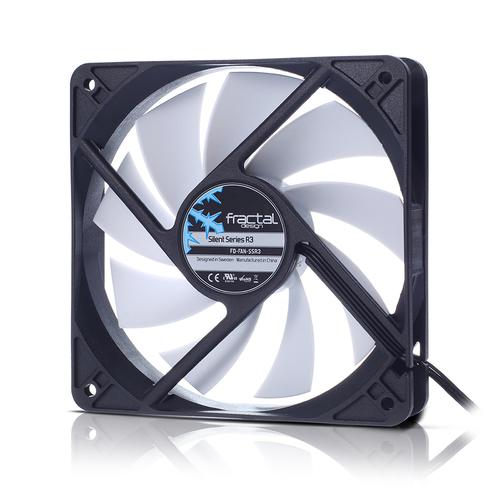 Fractal Design Silent Series R3 40mm Computer case Fan 4 cm Black,White product photo